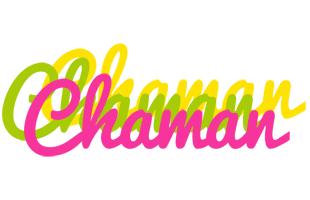 Chaman sweets logo