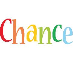 Chance birthday logo