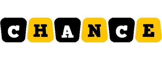 Chance boots logo