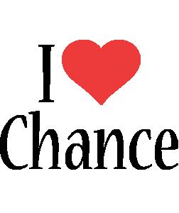 Chance i-love logo