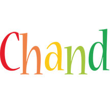 Chand birthday logo