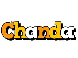 Chanda cartoon logo