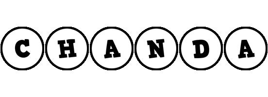 Chanda handy logo