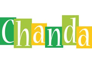 Chanda lemonade logo