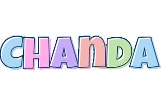 Chanda pastel logo