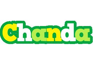 Chanda soccer logo