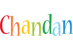 Chandan birthday logo