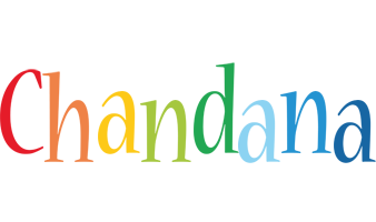 Chandana birthday logo
