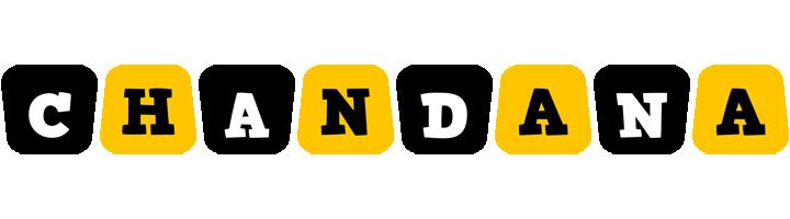 Chandana boots logo