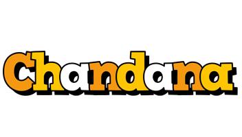 Chandana cartoon logo