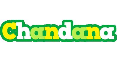 Chandana soccer logo