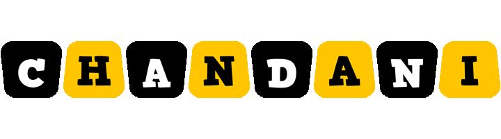 Chandani boots logo