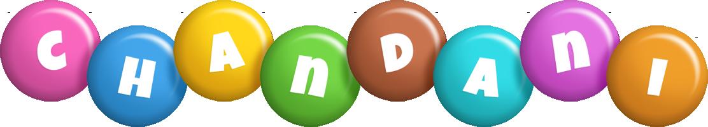 Chandani candy logo