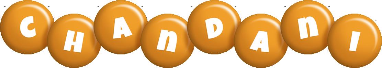 Chandani candy-orange logo