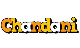 Chandani cartoon logo