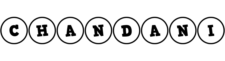 Chandani handy logo