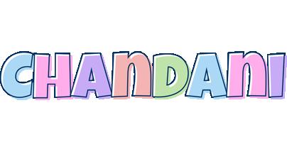 Chandani pastel logo