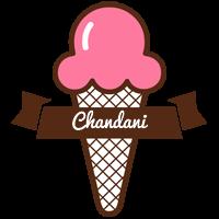 Chandani premium logo