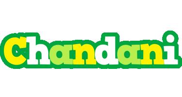 Chandani soccer logo