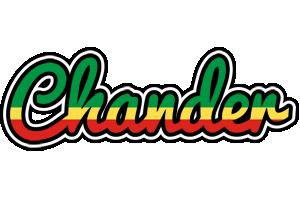 Chander african logo