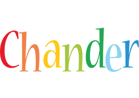 Chander birthday logo