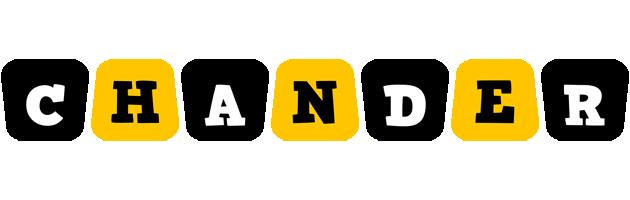 Chander boots logo