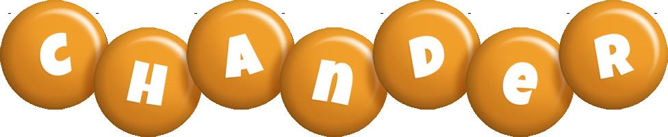Chander candy-orange logo