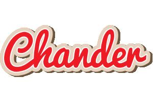 Chander chocolate logo