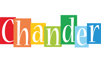 Chander colors logo