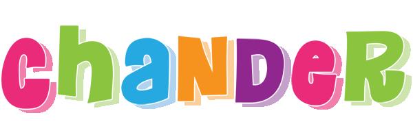 Chander friday logo