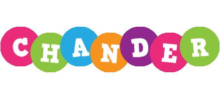 Chander friends logo