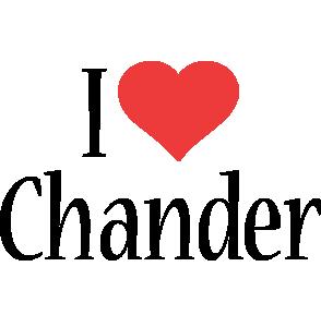 Chander i-love logo