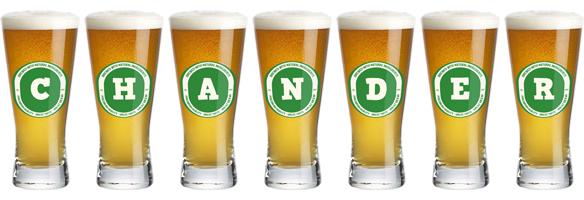 Chander lager logo