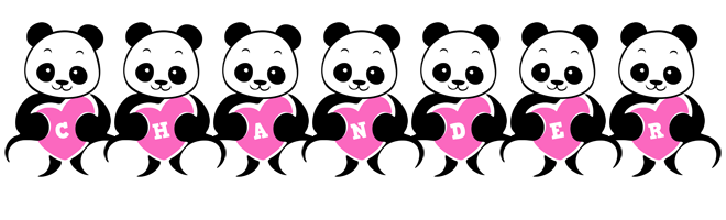 Chander love-panda logo