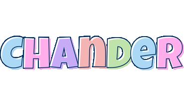 Chander pastel logo