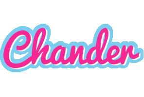 Chander popstar logo