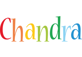 Chandra birthday logo