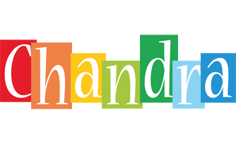 Chandra colors logo