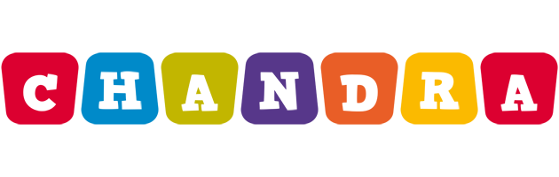 Chandra kiddo logo
