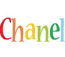 Chanel birthday logo
