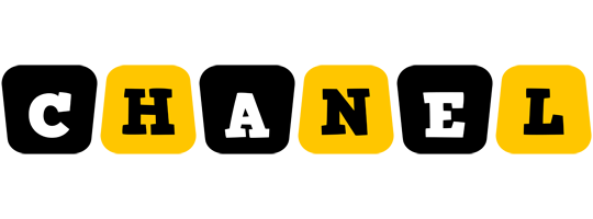 Chanel boots logo