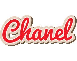 Chanel chocolate logo