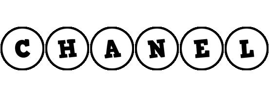 Chanel handy logo
