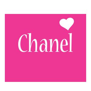 Chanel love-heart logo