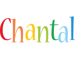 Chantal birthday logo