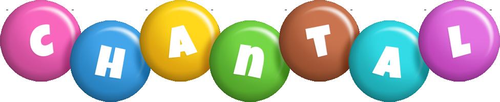 Chantal candy logo