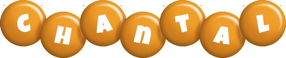 Chantal candy-orange logo