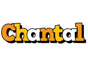 Chantal cartoon logo