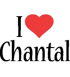 Chantal i-love logo