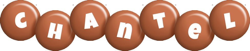 Chantel candy-brown logo